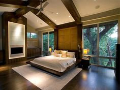 Bedroom.. Like views and fire place in room but want it on both sides so you can see fire place from taken a bath and your bed!