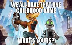 YES IT IS EVERY RATCHET AND CLANK GAME mostly ps2 ones, only got a 3 when we were older
