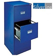 FIRA certified, Free UK mainland delivery on Silverline Filing Cabinets. Filing Cabinets, A3, Metal, Ideas, Metals, Thoughts