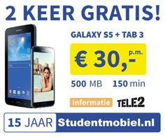 Tele2 galaxy S5 - tab