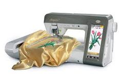Baby Lock Ellegante Embroidery Machine....One of My Passions!