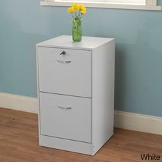 @Overstock.com - Wilson 2-drawer Filing Cabinet - This locking two-drawer filing cabinet provides a secure and convenient storage solution for your most important documents and papers. Lightweight construction and a stylish design makes this versatile cabinet perfect for either the home or office.  http://www.overstock.com/Home-Garden/Wilson-2-drawer-Filing-Cabinet/8032253/product.html?CID=214117 $122.99