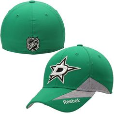 quality design 87571 4c19e Dallas Stars Reebok Center Ice Practice Flex Hat - Green. Nhl ...