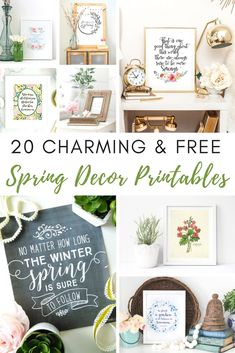Home Style Saturdays: Decor tips, fireplace makeover, two no-sew burlap projects, and spring printables. Easy, DIY ideas for your home. Diy Home, Easy Home Decor, Home Decoration, Spring Home Decor, Spring Crafts, Burlap Projects, Diy Projects, Burlap Crafts, Diy Crafts