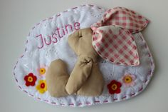 Personalized Name Banner Wall Decor Baby Room