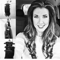 How do you store your Queen C Extensions? @golaniego Organizes her Crown Jewels set on three different Queen C Hangers and puts them in her Storage bag!  We love how this looks!  We would love to know how you do yours!   www.QueenCHair.com