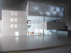 Copenhagen Culture House Library Modern Architecture Concept