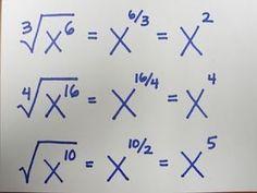 Quadratwurzel aus Negativ lehren Mathe: Bruch-Exponenten. Einfach. #Mathematik, #bruch #einfach #exponenten #lehren #mathe #negativ #quadratwurzel