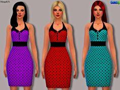 Sims Addictions: Sims 4 Retro Rockabilly Dress