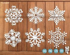 6 Christmas Snowflakes SVG Bundle SET 2 | Winter Svg | svg cut files | snowflake silhouette | Christmas Svg | vinyl decal Winter | Cricut For personal and commercial use. -------------------------------------------------------------------------------------------------- ❆ Christmas Snowflakes SET 1 : https://www.etsy.com/uk/listing/556935675/6-christmas-snowflakes-svg-bundle-set-1 ------------------------------------------------------------------------------------...