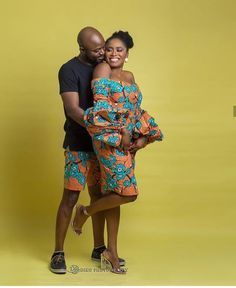 The most classic collection of beautiful traditional and ankara styles and designs for couples. These ankara styles collections are meant for beautiful African ankara couples African Fashion Designers, African Fashion Ankara, African Print Fashion, African Wear, African Attire, African Women, African Dress, African Prints, Ghana Fashion