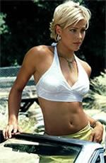 Brittany Daniel, loved this haircut on her in Joe dirt.