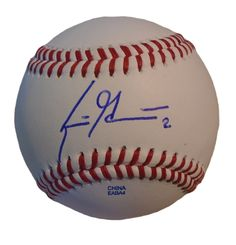 Scooter Gennett Signed Rawlings Baseball, Milwaukee Brewers, Proof This is a brand-new Scooter Gennett autographed Rawlings official league leather baseball. Scooter signed the baseball in blue ball p