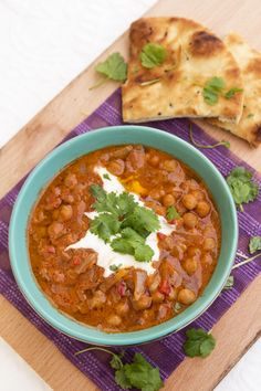 Chana masala - will have to translate this somehow