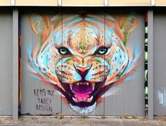 "Emanuele ""Rems 182"" Ronco (Truly Design) : Cheetah in Milano, Italy 2014"