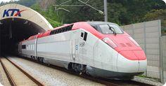 KTX (Korea Train Express), based on French TGV technology