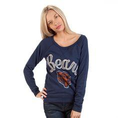 Junk Food Juniors Chicago Bears Field Goal Fleece Sweatshirt