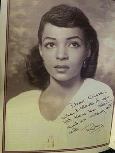 The late great Ruby Dee.