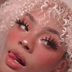 make your own makeup Edgy Makeup, Cute Makeup, Pretty Makeup, Makeup Inspo, Makeup Inspiration, Beauty Makeup, Makeup Looks, Hair Makeup, Hair Beauty