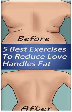5 Best Exercises To Reduce Love Handles Fat