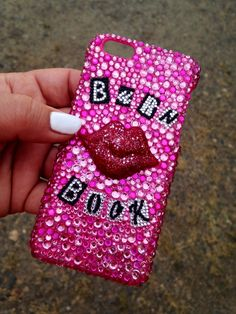 Burn Book Bling Bling Crystal Case Custom made to Order for iPhone 4 4s 5 5C Galaxy S3 S4 S5 Made in the US!!! by BlingCC on Etsy