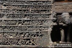 全世界最大的石窟 印度埃洛拉石窟