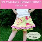 The Boardwalk Bloomers Skirt Pattern - via @Craftsy