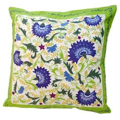 I pinned this Floral Accent Pillow from the Susan Sargent event at Joss and Main!