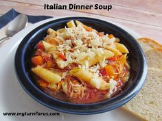 My Turn for us: Italian Dinner Soup