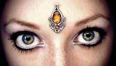 Hey, I found this really awesome Etsy listing at https://www.etsy.com/listing/169055713/firefly-bindi-tribal-fusion-bellydance
