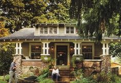 I love these old bungalos