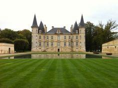 Château Pichon Longueville Baron in Bordeaux, #France