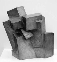 Josef Pillhofer (1921 - 2010) - Composition Cubiste