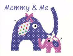 Mommy and Me Elephant Nursery Artwork Print Baby Room Kids Room Decoration / Gifts Under 20 art work kids children artwork wall decoration