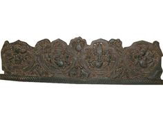 Five Forms of Sitting Ganesha Carved Headboard Wall Panel Bed Frame India Decor | eBay $530.00