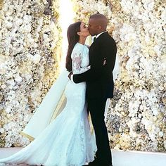 Kim Karashian West and Kanye West - Bang Showbiz