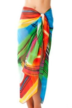 Sarongs, Put On, Tie Dye Skirt, Must Haves, Sassy, Ties, Sunshine, Cover Up, Swimsuits