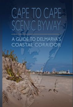 Cape to Cape Scenic Byway, A Guide to Delmarva's Coastal Corridor 2017 [pdf] #oceancitycool Maryland Beaches, Ocean City Md, Coastal, Road Trip, Island, Vacation, Places, Water, Travel