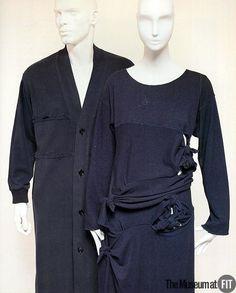 Set Rei Kawakubo for Comme des Garçons, 1983 The Museum at FIT