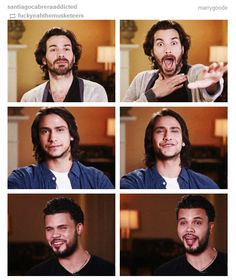 The Musketeers - Interview stills