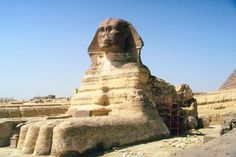 The Great Sphinx of Giza, Cairo, Egypt.  Been here and the Great Pyramid.  Had lunch on the Nile.