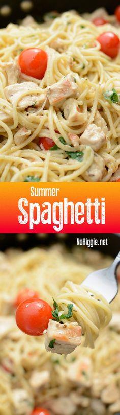 Summer Spaghetti wit