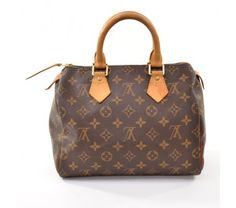 Louis Vuitton Monogram Canvas  Speedy 25 City Bag