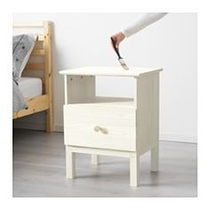 IKEA offers everything from living room furniture to mattresses and bedroom furniture so that you can design your life at home. Check out our furniture and home furnishings! Solid Pine, Solid Wood, Bedside Table Ikea, Nightstand Ideas, Ikea Us, Design Your Life, Scandinavian Furniture, Farmhouse Style Kitchen, Big Girl Rooms