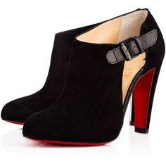 a33b0ebdc04 Shoes - Seferme - Christian Louboutin Black Suede Shoes