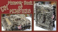 DIY Harry Potter Monster Book of Monsters [Let's Create Something Great!]