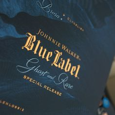Johnnie Walker Blue Label – Ghost & Rare Special Release on Packaging of the World - Creative Package Design Gallery