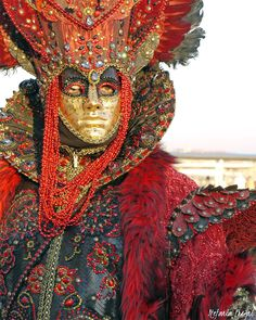 Wonderful #mask of #Venice #Carnival.  #Carnevale #Venezia