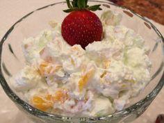 Pistachio Fruit Fluff Salad