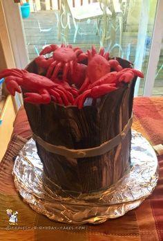 Coolest Crab Birthday Cake... Coolest Birthday Cake Ideas